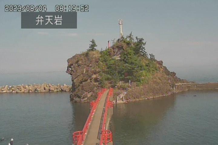 弁天岩(能生海水浴場)ライブカメラ
